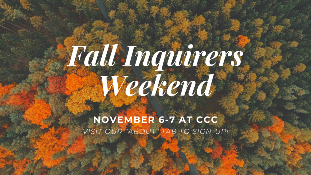 Fall Inquirers Weekend