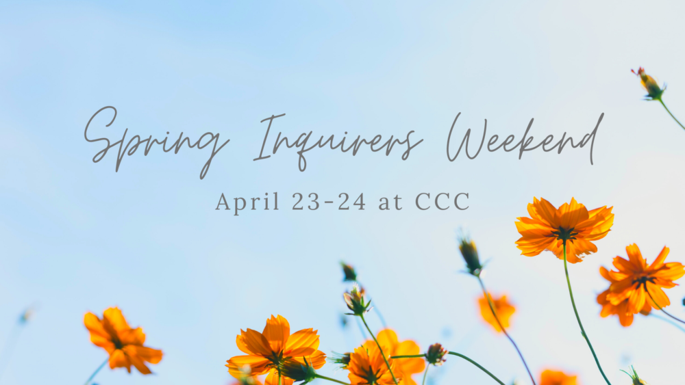 Spring Inquirers Weekend